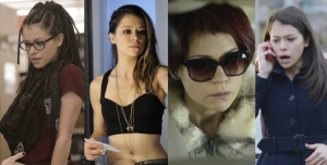 So far, at least seven clones have been seen on 'Orphan Black.' (Photo courtesy of IO9.)